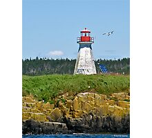 Peter Island Lighthouse Photographic Print