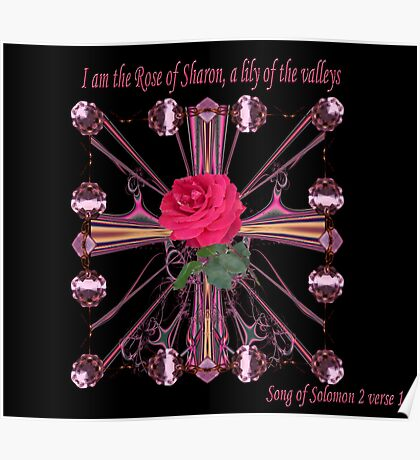 Rose Of Sharon - A lily of the Valleys Poster