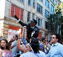 Dancing in the street by Jeff Stroud