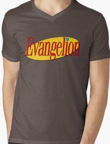 Neon Genesis Seinfeldgelion Mens V-Neck T-Shirt