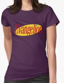 Neon Genesis Seinfeldgelion Womens Fitted T-Shirt
