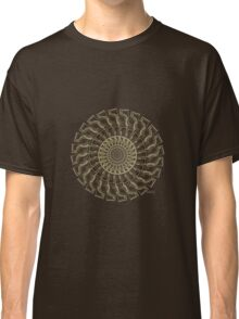 Abstract 168G Fractal Classic T-Shirt