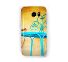 iPhoneography: Teal Chair Samsung Galaxy Case/Skin