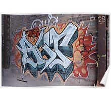 Brickworks Grafitti Poster