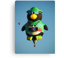 Camera Penguin !  Canvas Print