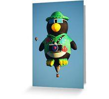 Camera Penguin !  Greeting Card