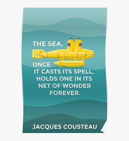 Jacques Cousteau Poster