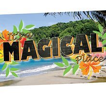 Its a Magical Place - Agents of Shield - Vintage Postcard by alwayssunny24