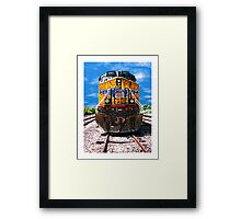 Day Train 5907 UP Framed Print