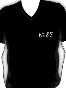 Woes Black T-Shirt