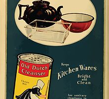 Advertisements Photoplay Magazine January through June 1919 0744 Old Dutch Cleanser by wetdryvac