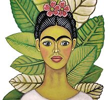 frida kahlo young and happy by zgkcd