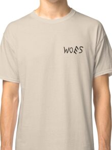 Woes White Classic T-Shirt