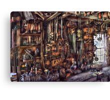 Carpenter - That's a lot of tools  Canvas Print