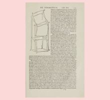 Famous Painter Parts Human Body Symmetry Four Books Geomety 1557 Albrecht Durer 0233 Twists One Piece - Long Sleeve