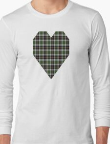 02859 New Hanover County, North Carolina Tartan  Long Sleeve T-Shirt