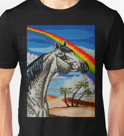 Arabian Needlepoint Unisex T-Shirt
