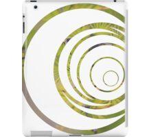 Green strange circle iPad Case/Skin