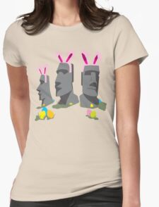 Easter Island Womens Fitted T-Shirt