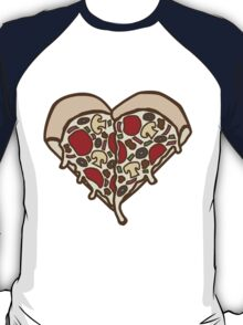 Pizza Heart T-Shirt