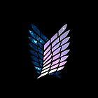 Wings of Space || Survey Corps logo by fullmetaltitan