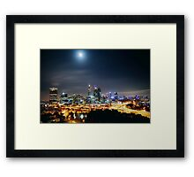 ATMOSPHERIC  CITY Framed Print