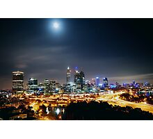 ATMOSPHERIC  CITY Photographic Print