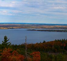Fall colours and the Lake by Josef Pittner