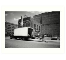 Great Lakes : Detroit Delivery Art Print
