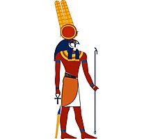 Montu | Egyptian Gods, Goddesses, and Deities Photographic Print