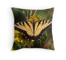 Fall Tiger - Tiger Swallowtail Throw Pillow