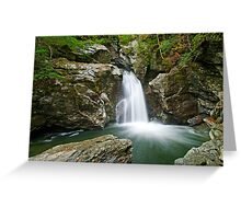 Bingham Falls - From the Right Greeting Card