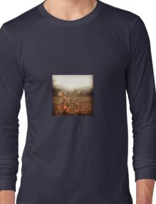 Orange Wildflowers Basking in the Sunshine Long Sleeve T-Shirt