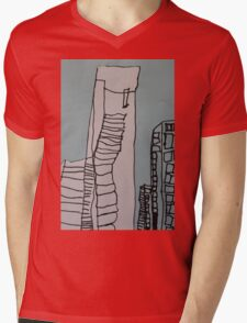 Eureka Tower  Mens V-Neck T-Shirt