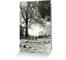 Final Rest Greeting Card