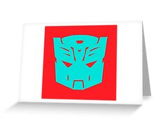 Autocon icon Greeting Card