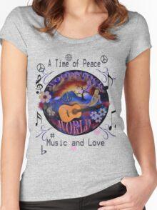 Woodstock World Women's Fitted Scoop T-Shirt