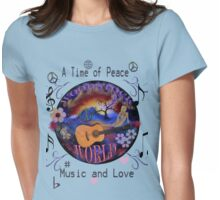 Woodstock World Womens Fitted T-Shirt