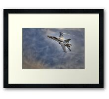 FA-18 Hornet - Swiss Air Force Framed Print
