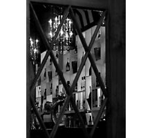 A Drink awaits (black & white) Photographic Print