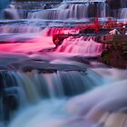 The Water Falls by Josef Pittner