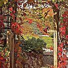 Autumn Gateway, Talaton by Mike  Waldron