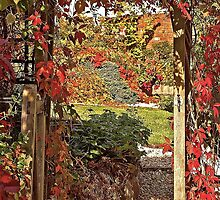 Autumn Gateway, Talaton by Mike  Waldron