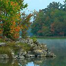 Fall's Beauty Early in the Morn by Susan Blevins