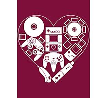 Nintendo Love Photographic Print