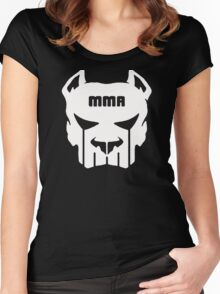 MMA FIGHTING  Women's Fitted Scoop T-Shirt