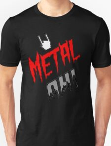 "Débardeur & T-Shirts ""Metal Oh!"" Simple (H/F) T-Shirt"