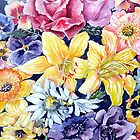 "Flower ""Carpet"" by Marie Theron"