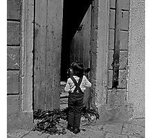 Il Bambino Photographic Print