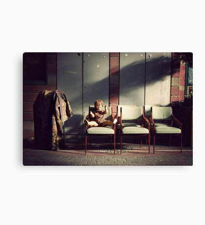 Wandering : Doll Canvas Print